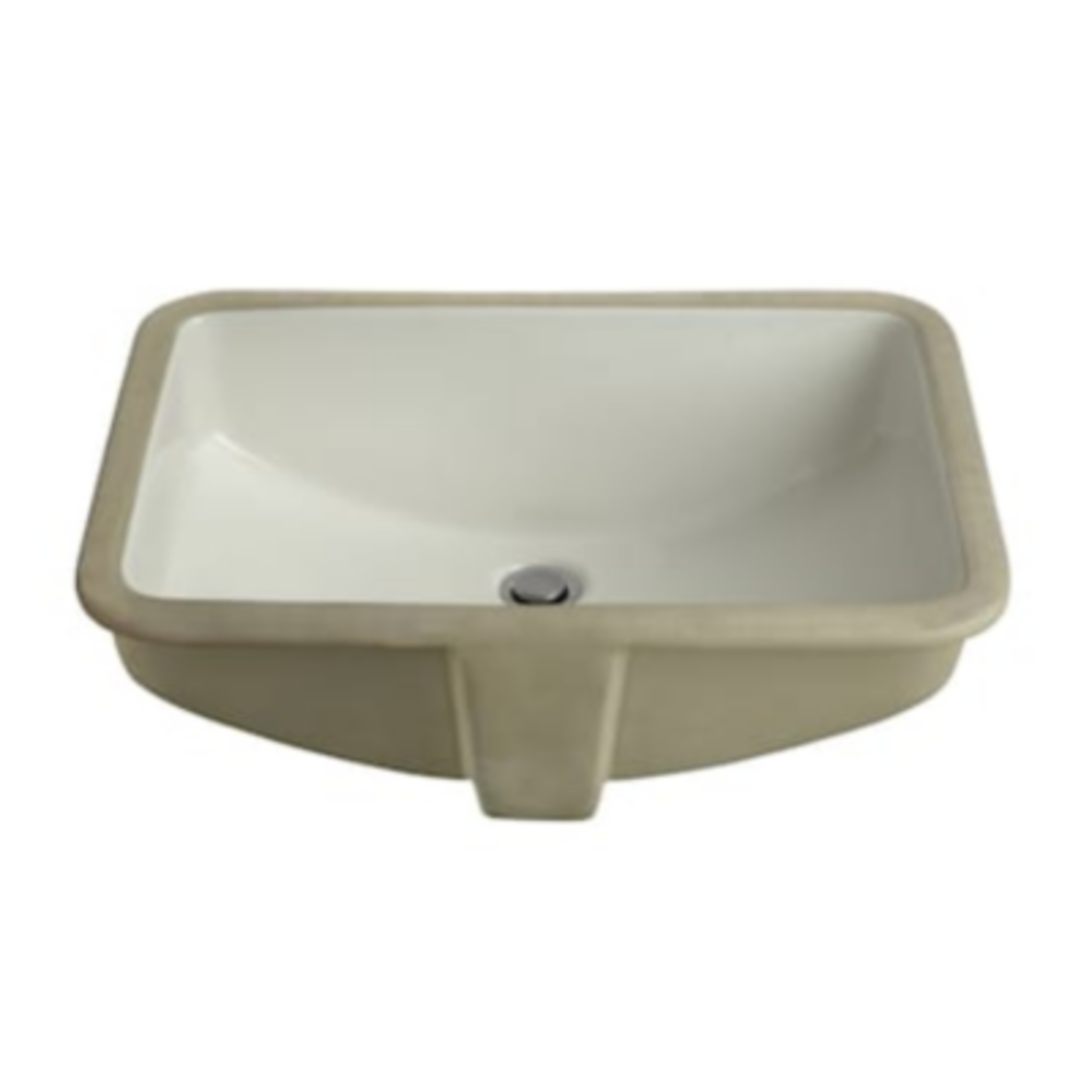 2724 AquaSource Undermount Rectangular Bathroom Sink