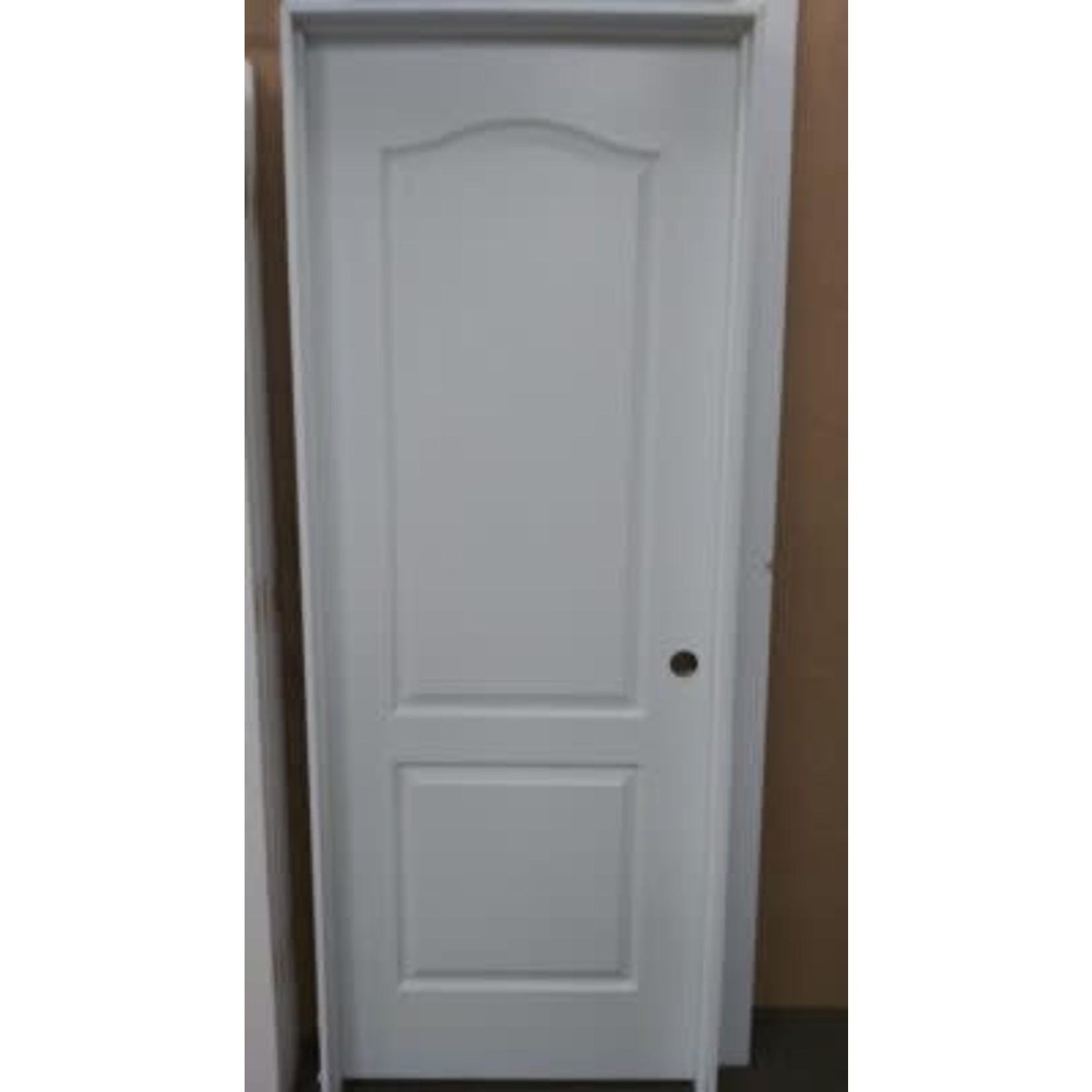 4917 Primed Pre-Hung Raised 2-Panel Arch-Top Interior Door