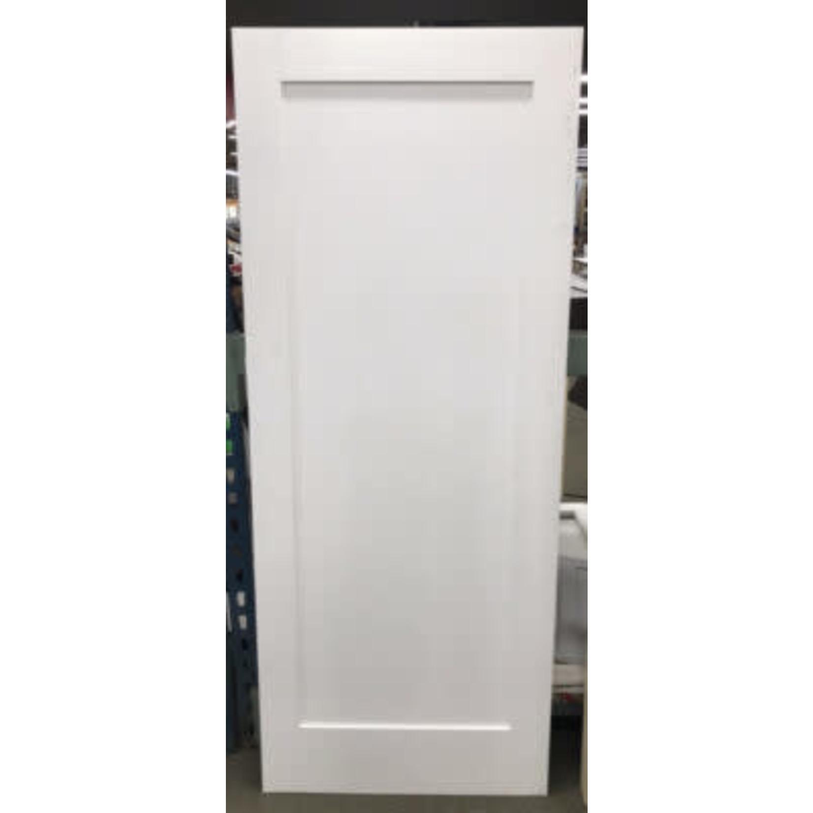4911 Primed Single Panel Interior Door Slab