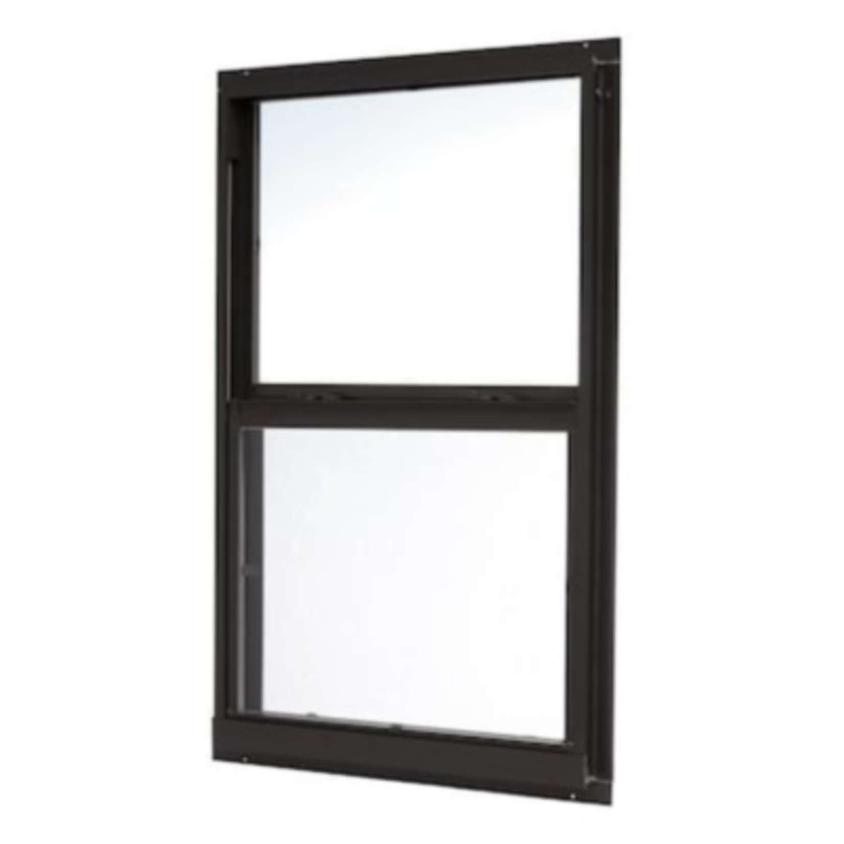 5291 ReliaBilt 46000 Series Black  Aluminum Single-Hung Window