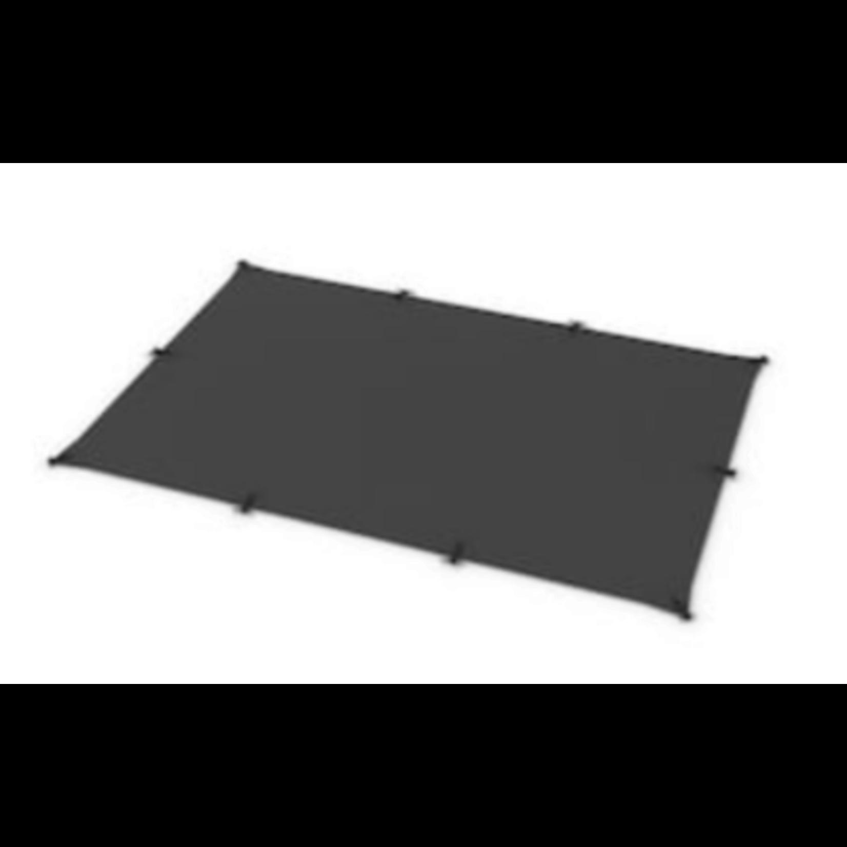 6961 Toja Grid 8 x 12 Graphite Shade Sail