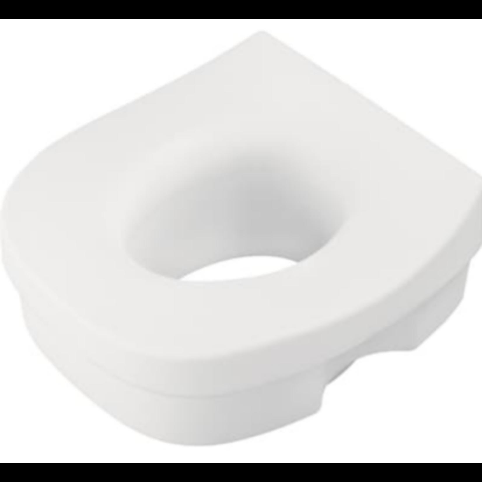 2954 Delta White Elevated Toilet Seat