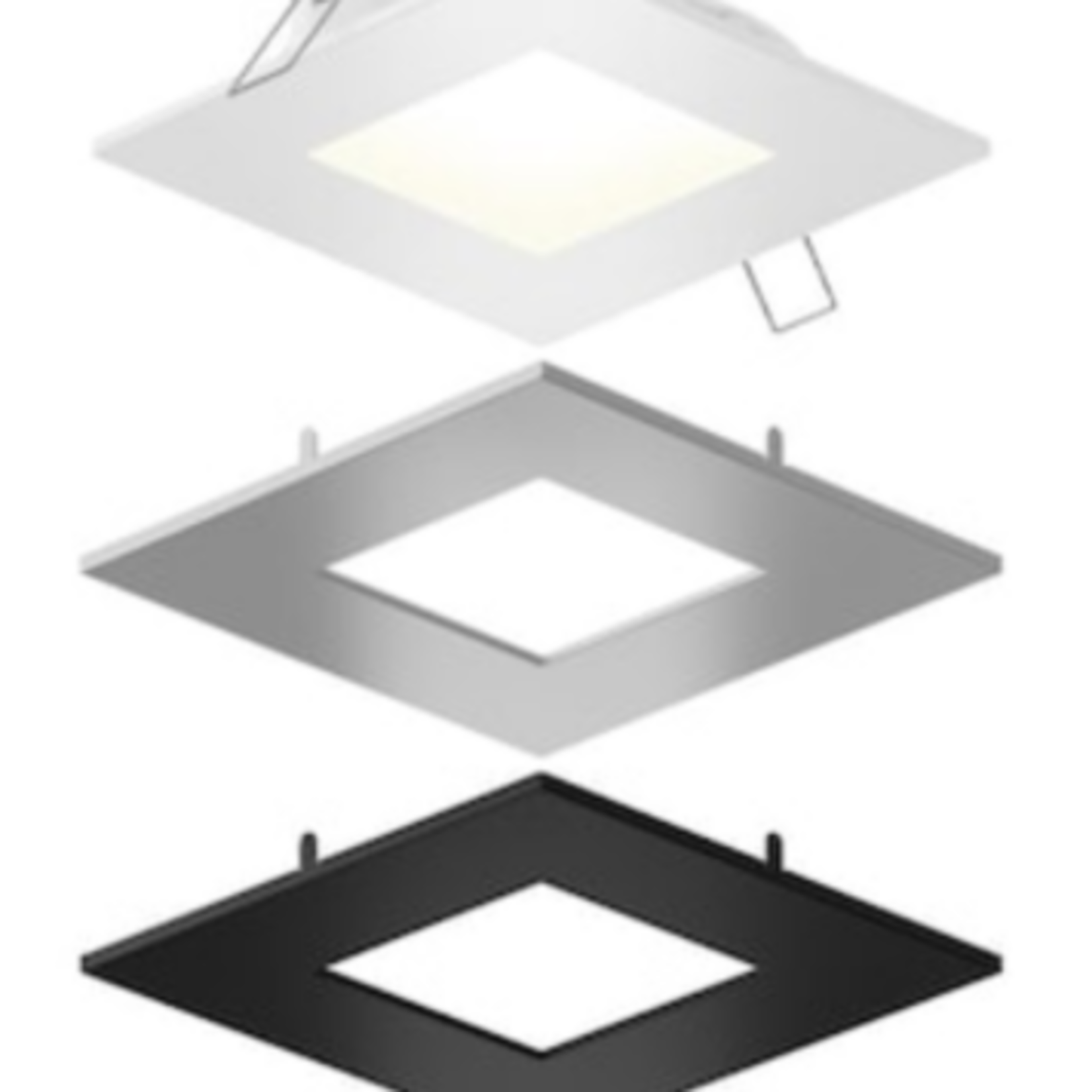 6902 DALS Lighting Square Dimmable Recessed Downlight