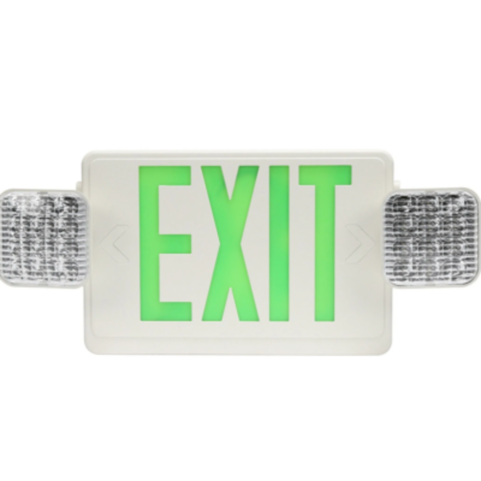 6677 Econolight LED Exit/Emergency Light Combo Sign