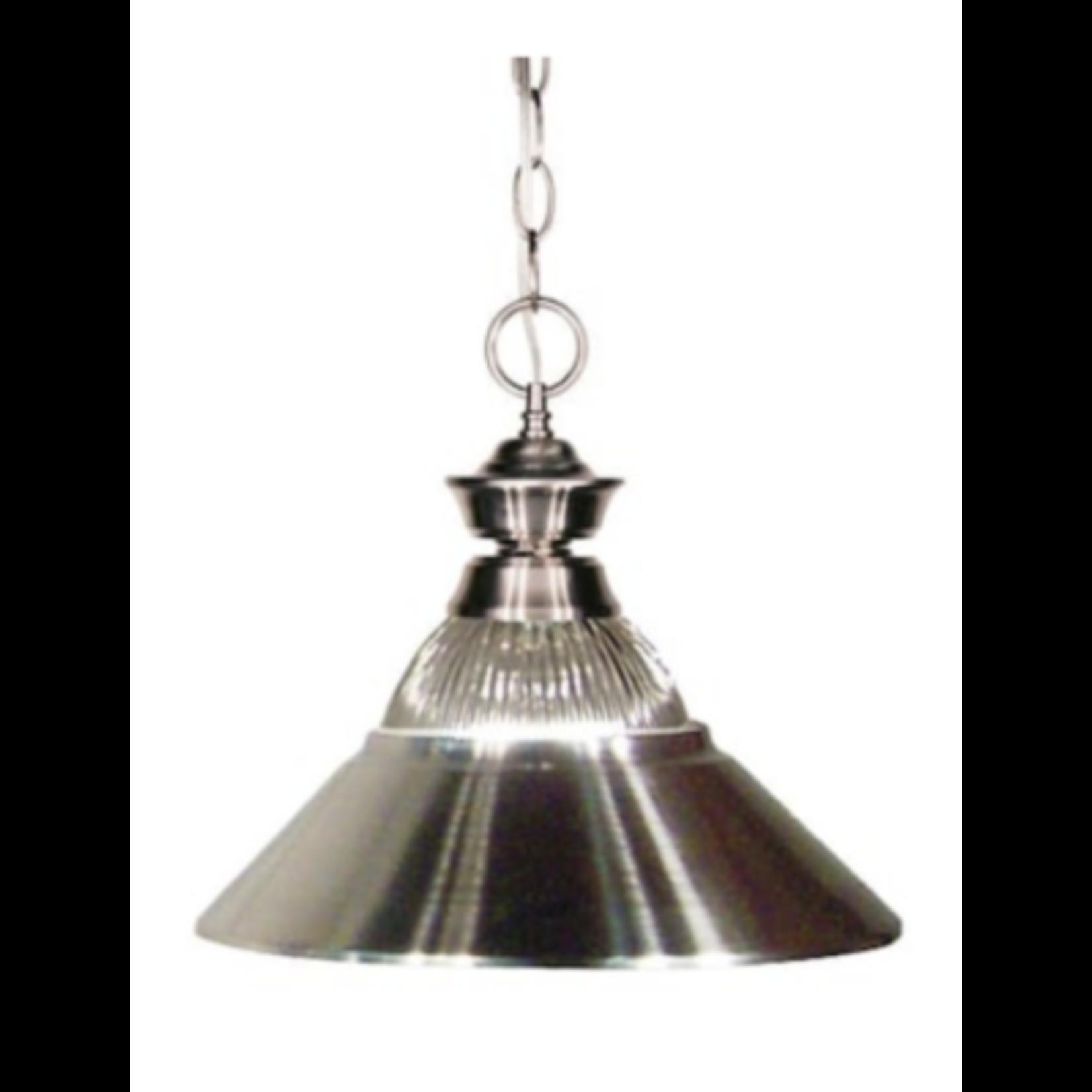 6400 Z-Lite Clear Glass Cone Pendant Light