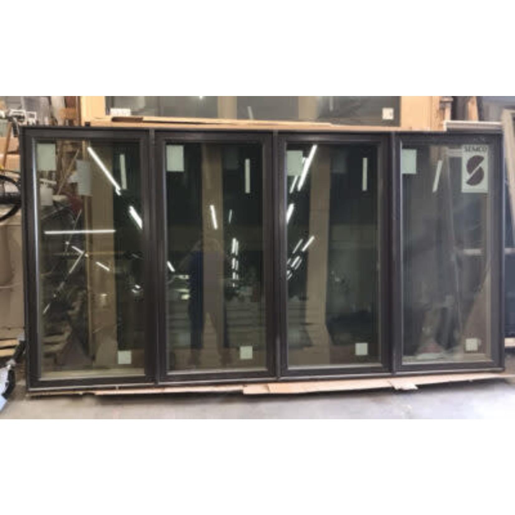 5318 Semco Dark Bronze Wood Casement Exterior Window