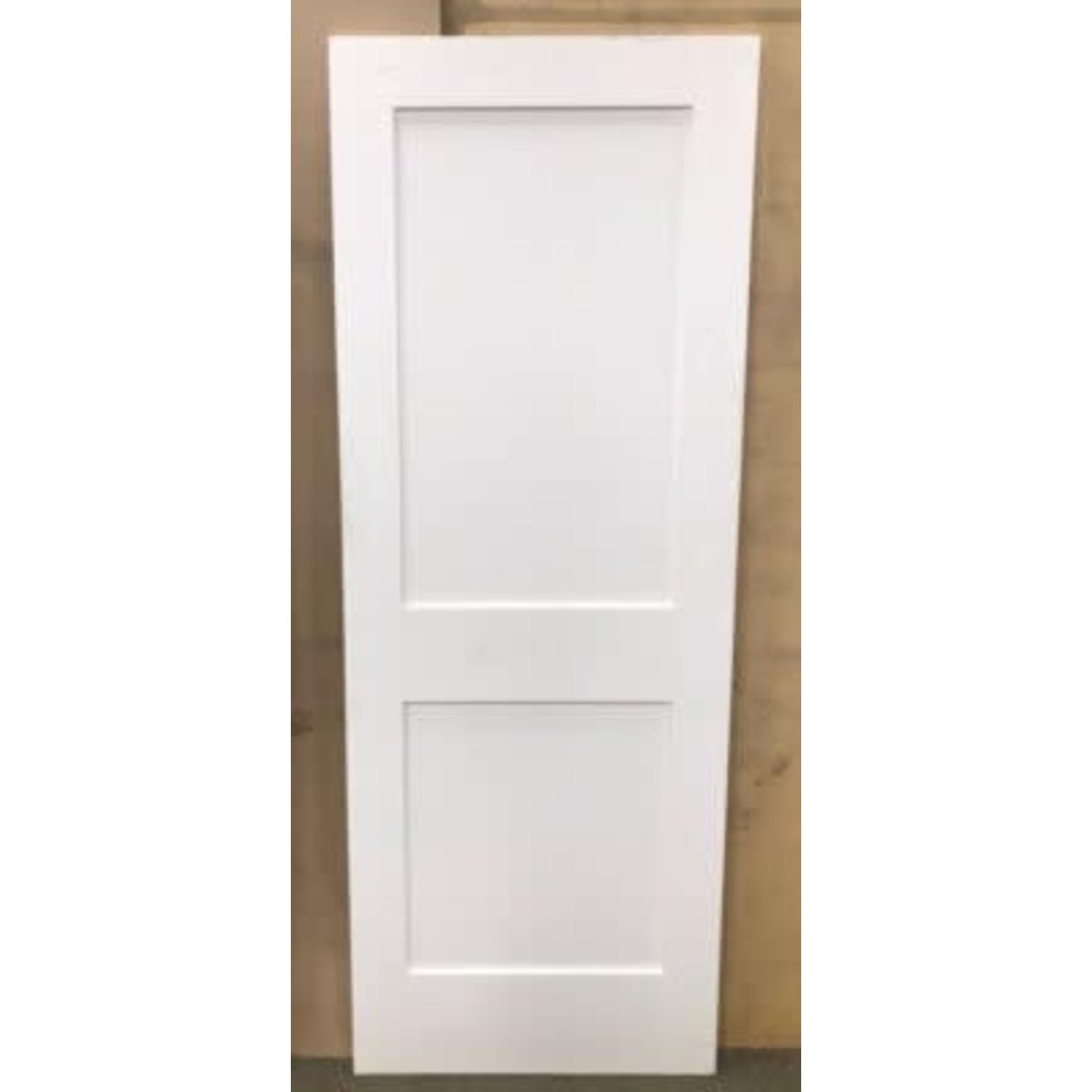 4996 Primed Recessed 2-Panel Interior Door Slab