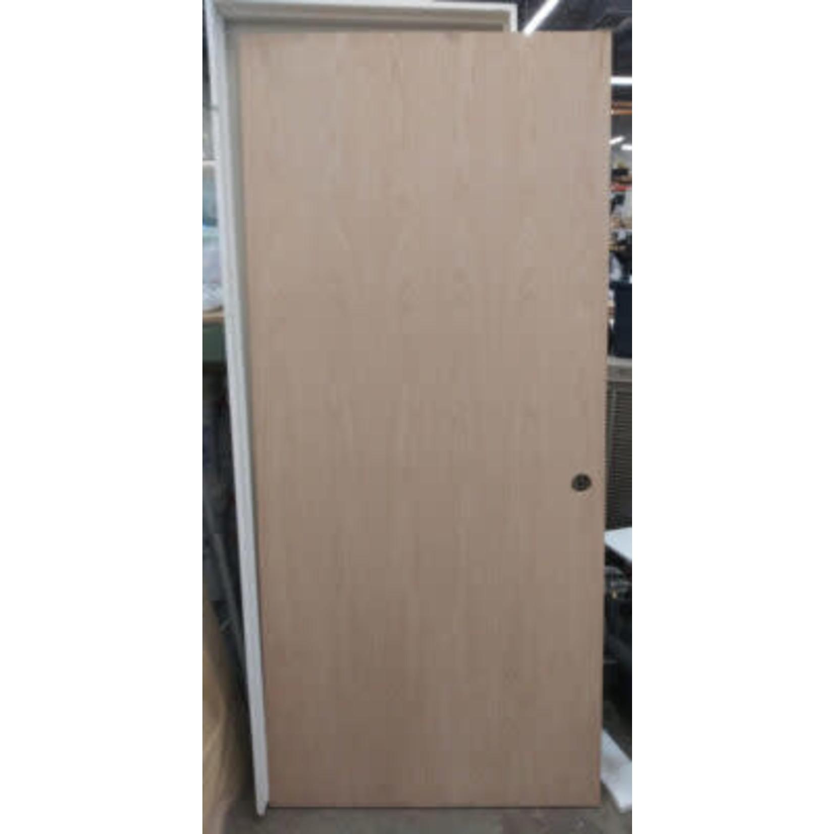 4078  Unfinished Solid Wooden Exterior Door
