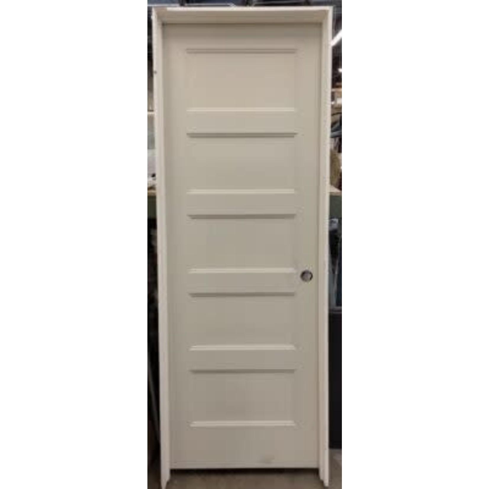 4072 Primed Pre-Hung Recessed 5-Panel Interior Door
