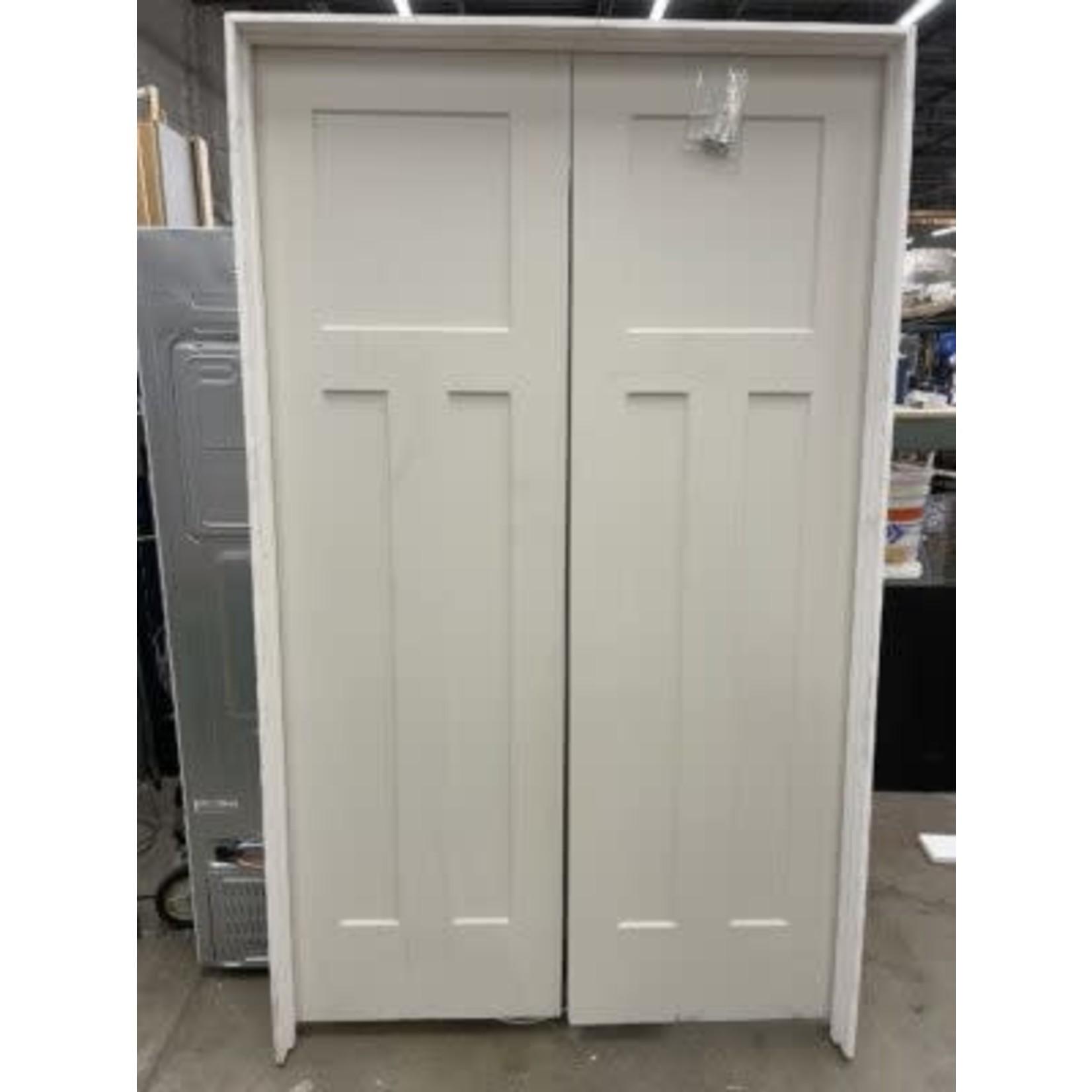 4070 Interior 3-Panel French Doors
