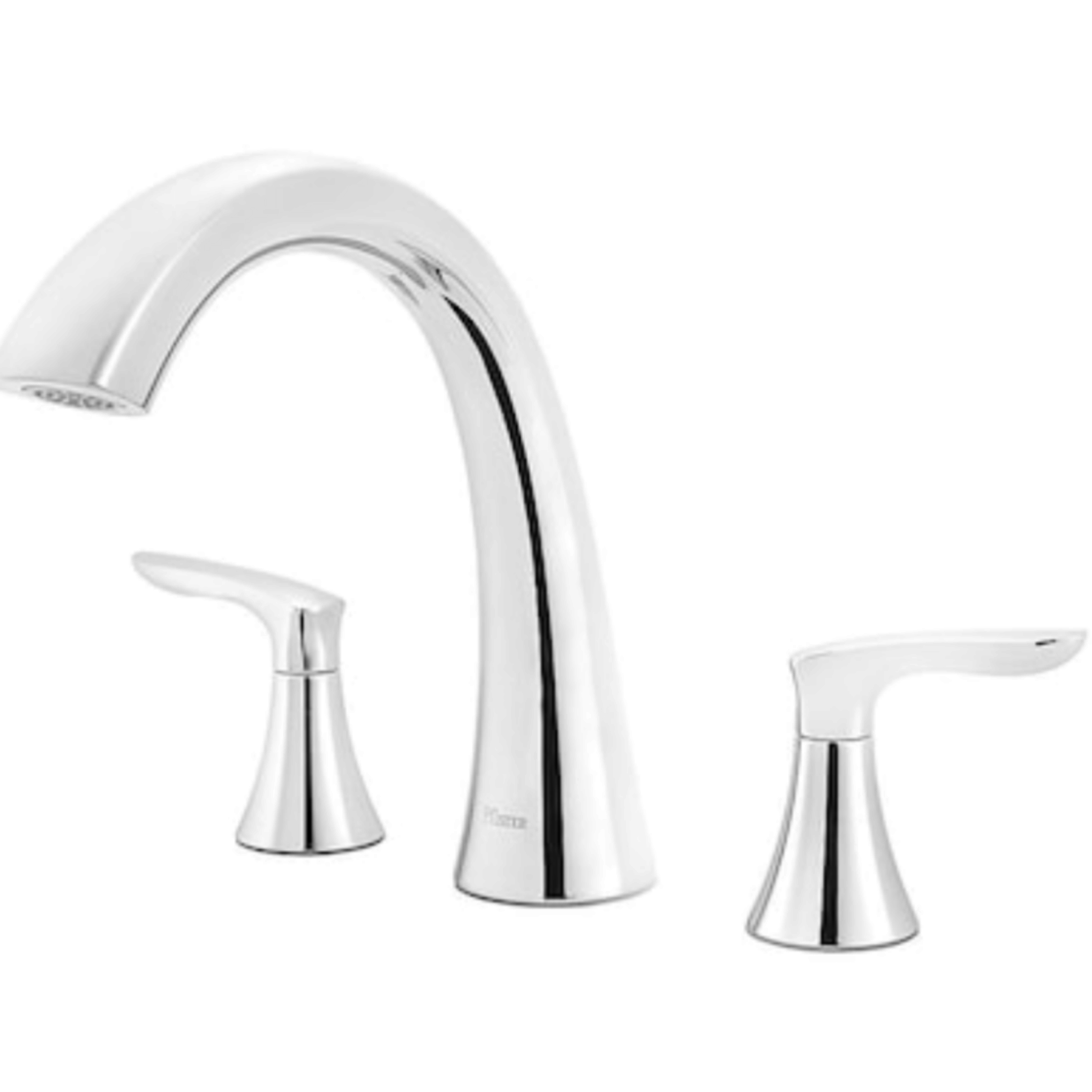 2910 Pfister Weller Polished Chrome Roman 2-Handle Bathtub Faucet
