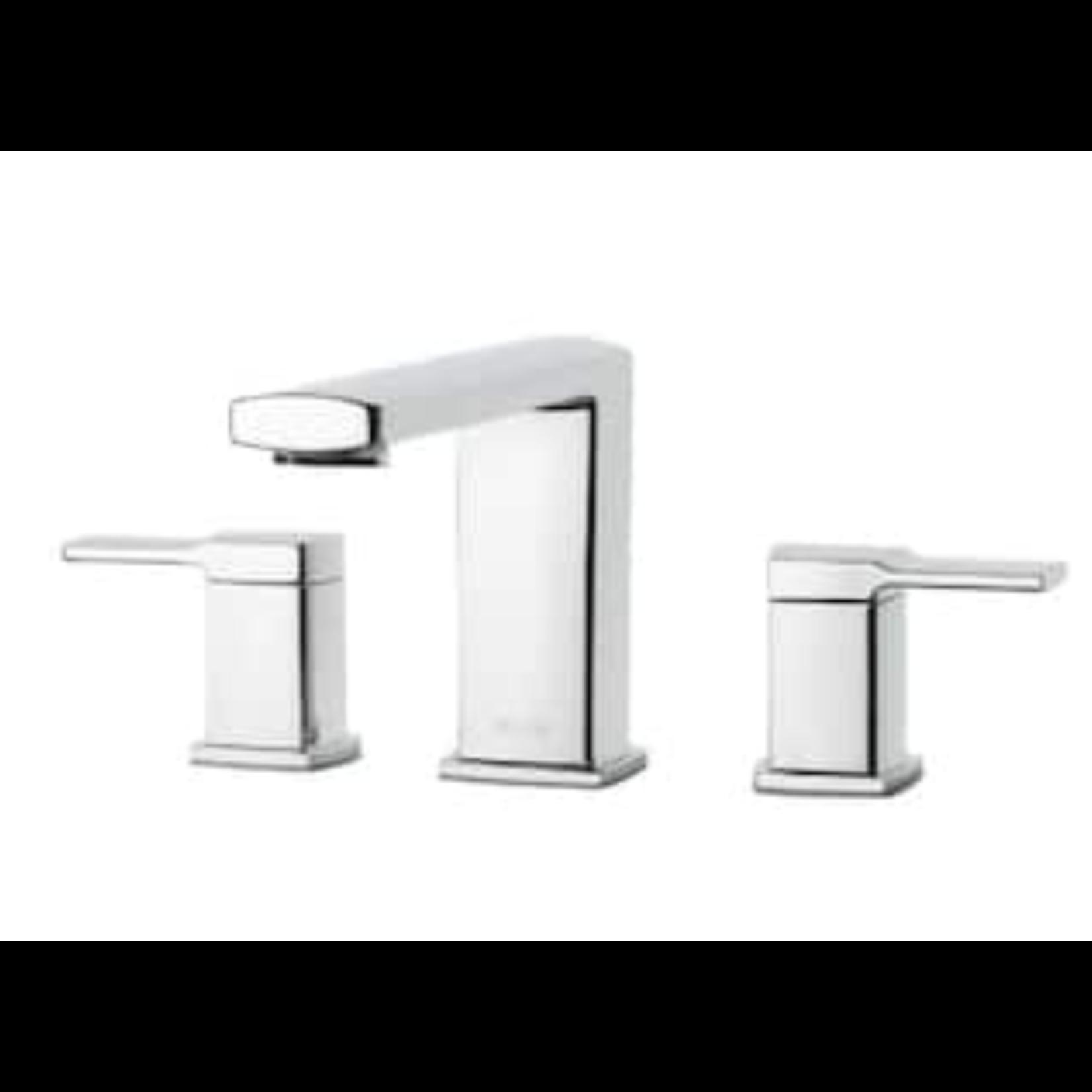 2909 Pfister Deckard Polished Chrome 2-Handle Roman Bathtub Faucet