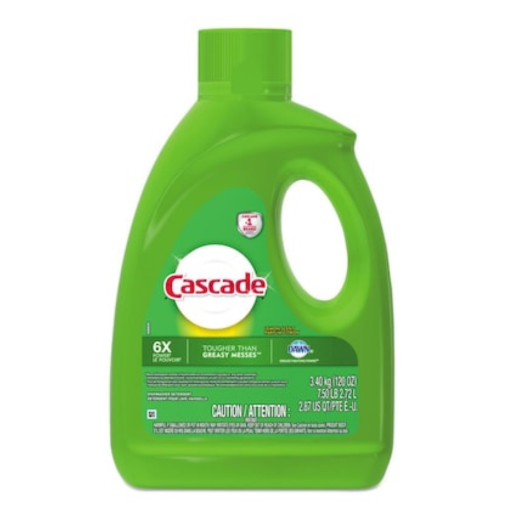 2037 Cascade Lemon Dishwasher Detergent