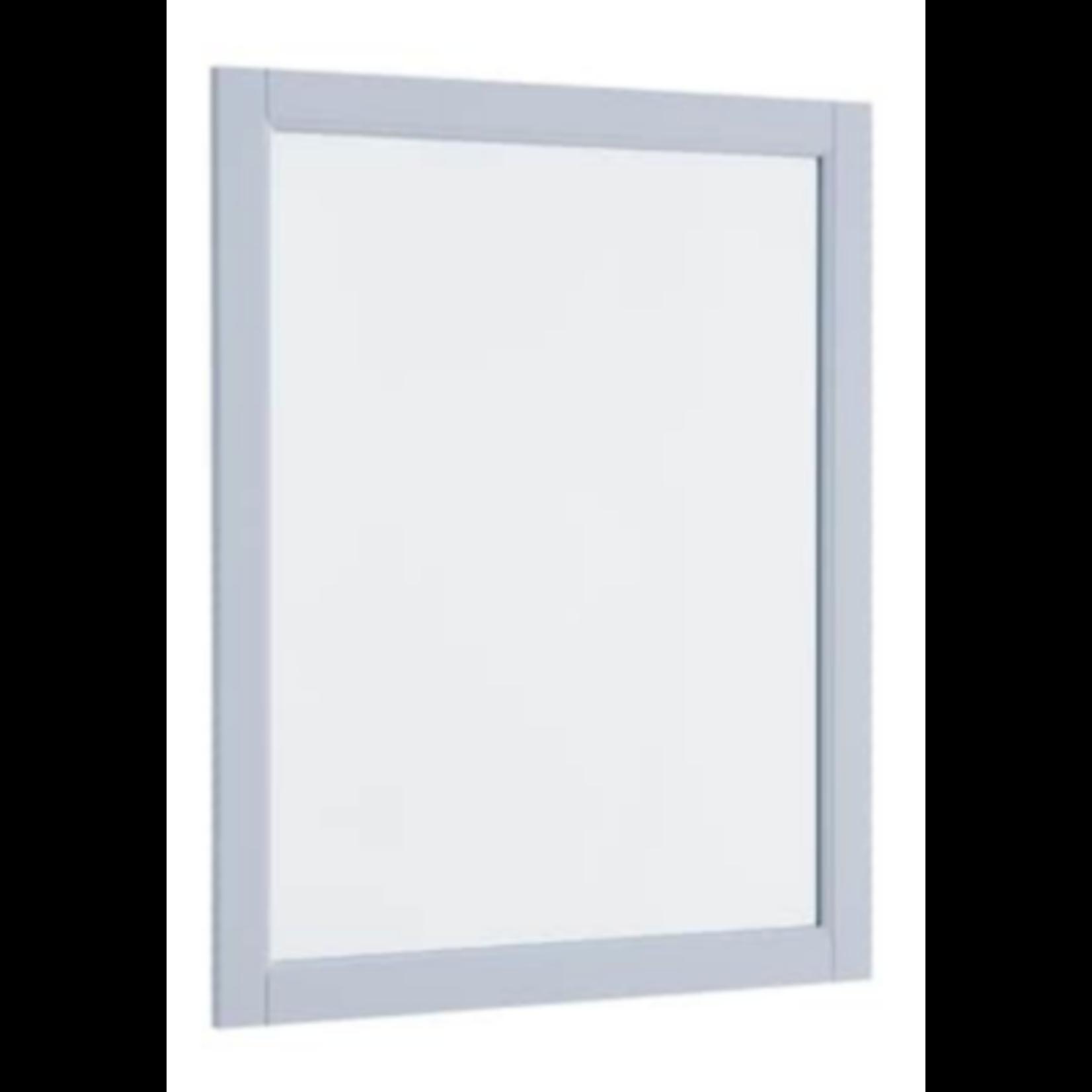 9209 Allen+Roth Roveland Light Gray Bathroom Mirror