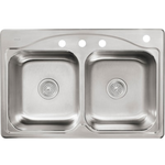 10045 Kohler Cadence Drop-in Double Bowl Sink