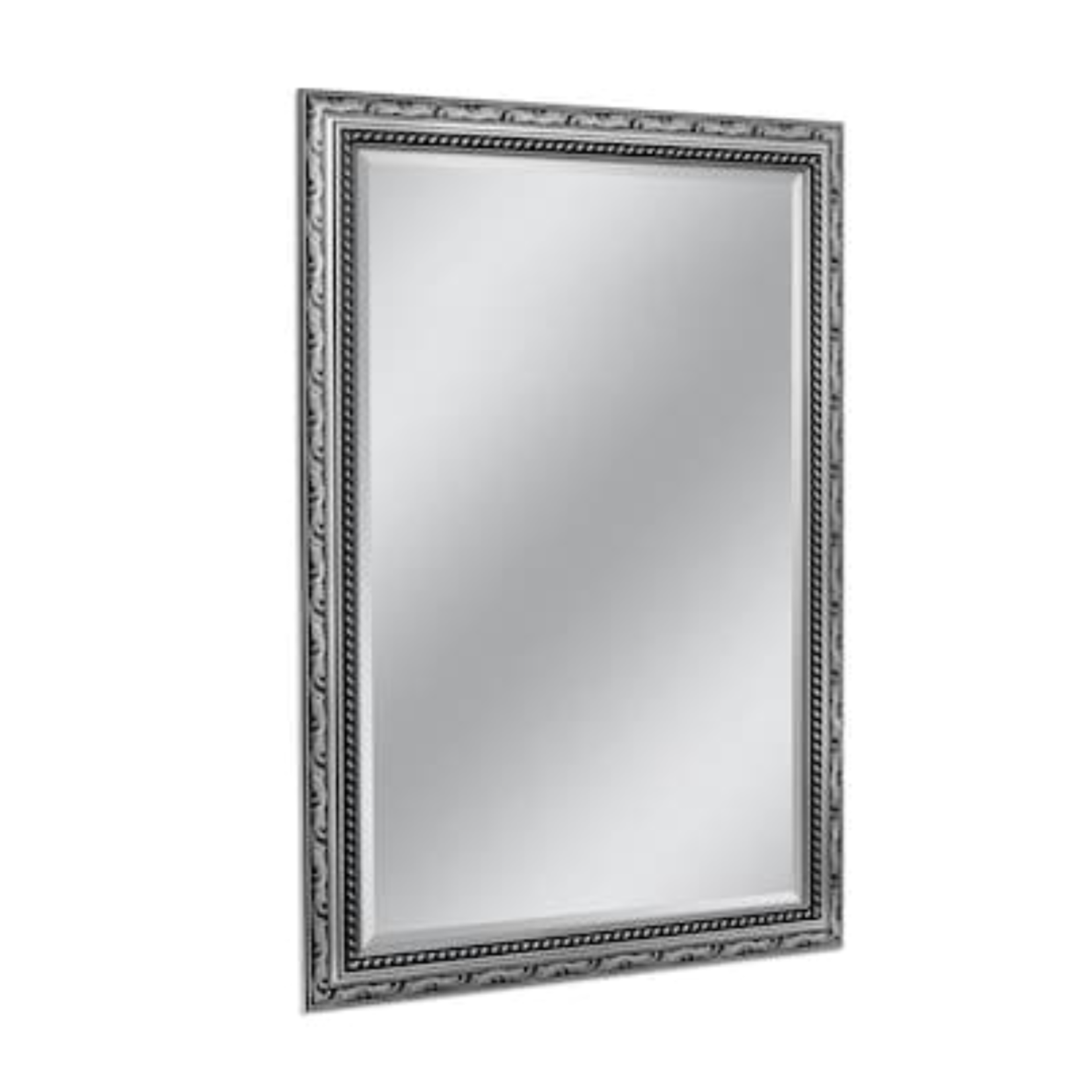 10062 Style Selections Silver Beveled Wall Mirror