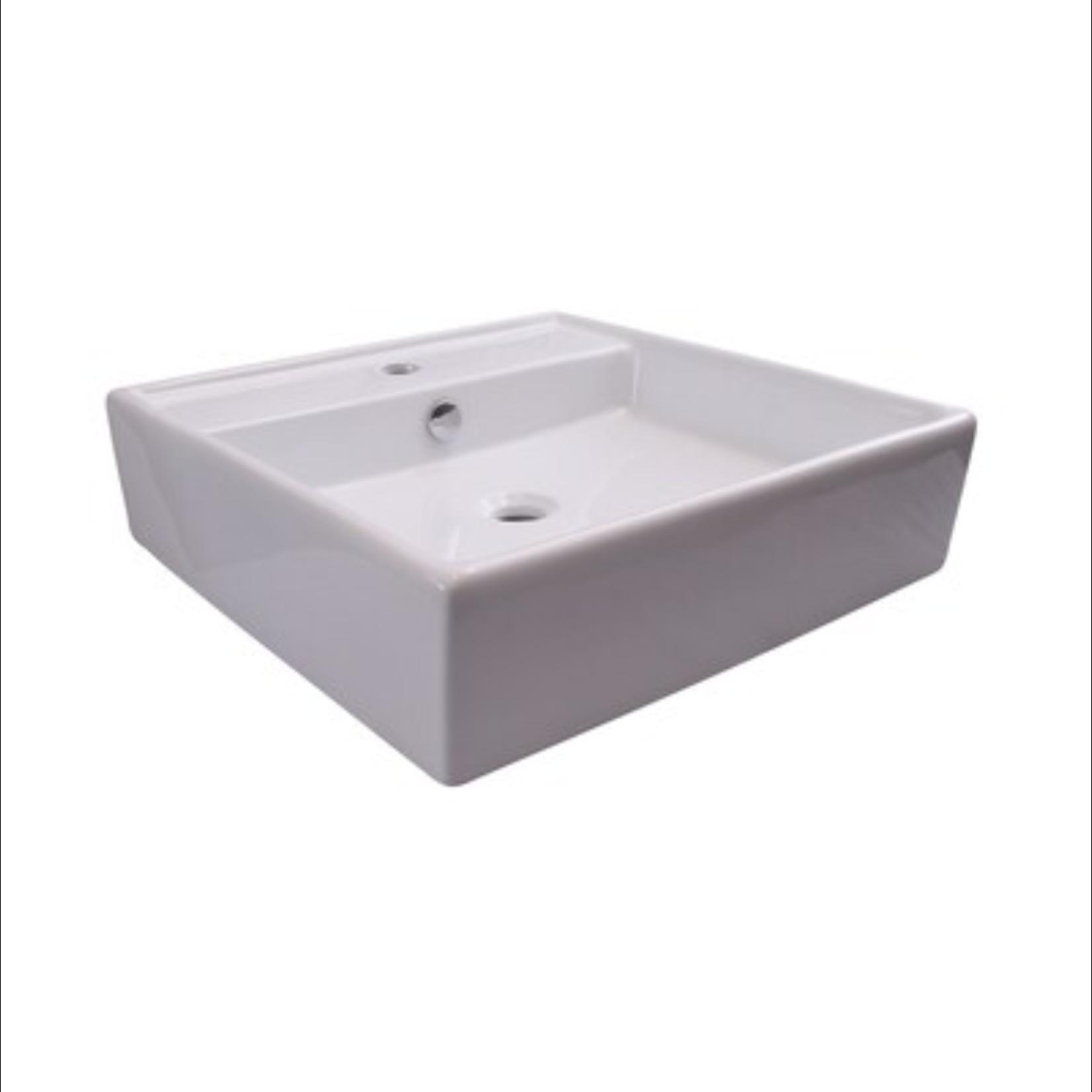 10099 Barclay Markle White Basin Wall-Hung Bathroom Sink