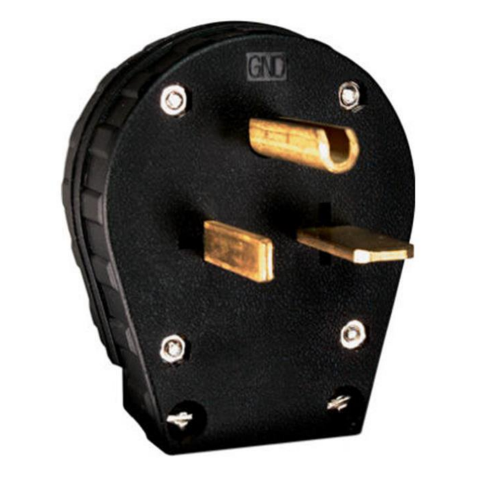 10107 Pass & Seymour Heavy Duty Dual Power Angle Plug