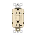 10108 Legrand Radiant Ivory Tamper Resistant GFCI Decorator Outlet