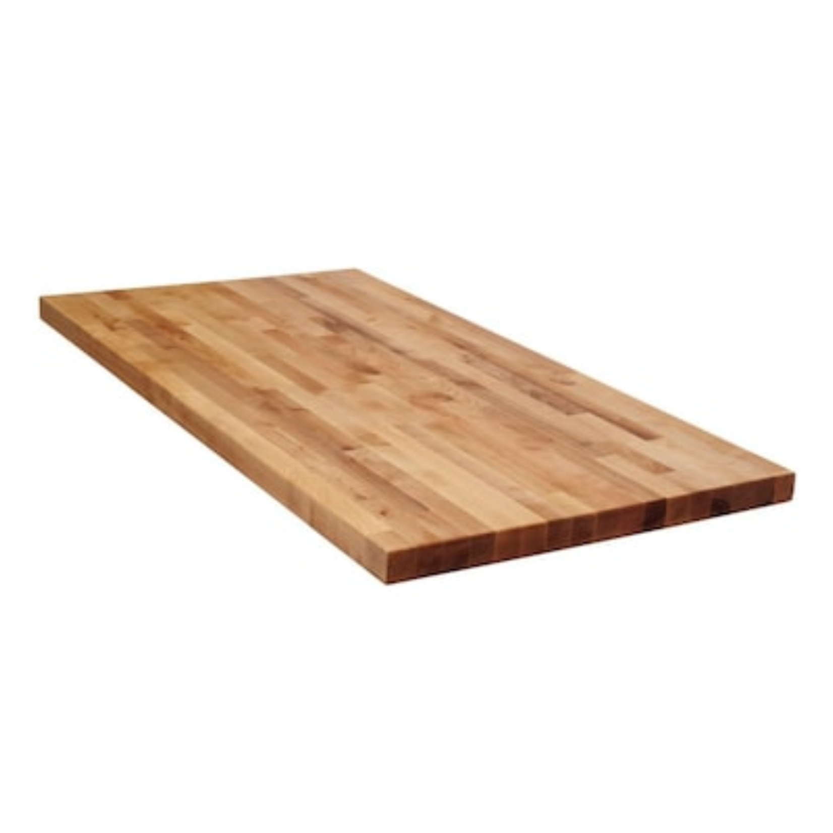 10122 The Baltic 8-ft Unfinished Birch Wood Butcher Block Countertop