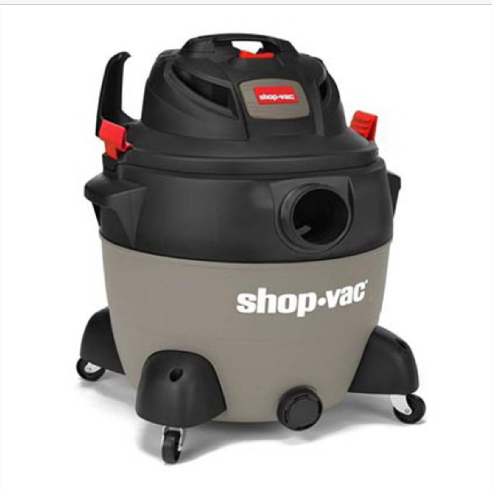 10137 Shop Vac 12-Gal Corded Portable Shop Vacuum