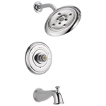 10164 Delta Cassidy Chrome 1-Handle Bathtub and Shower Faucet