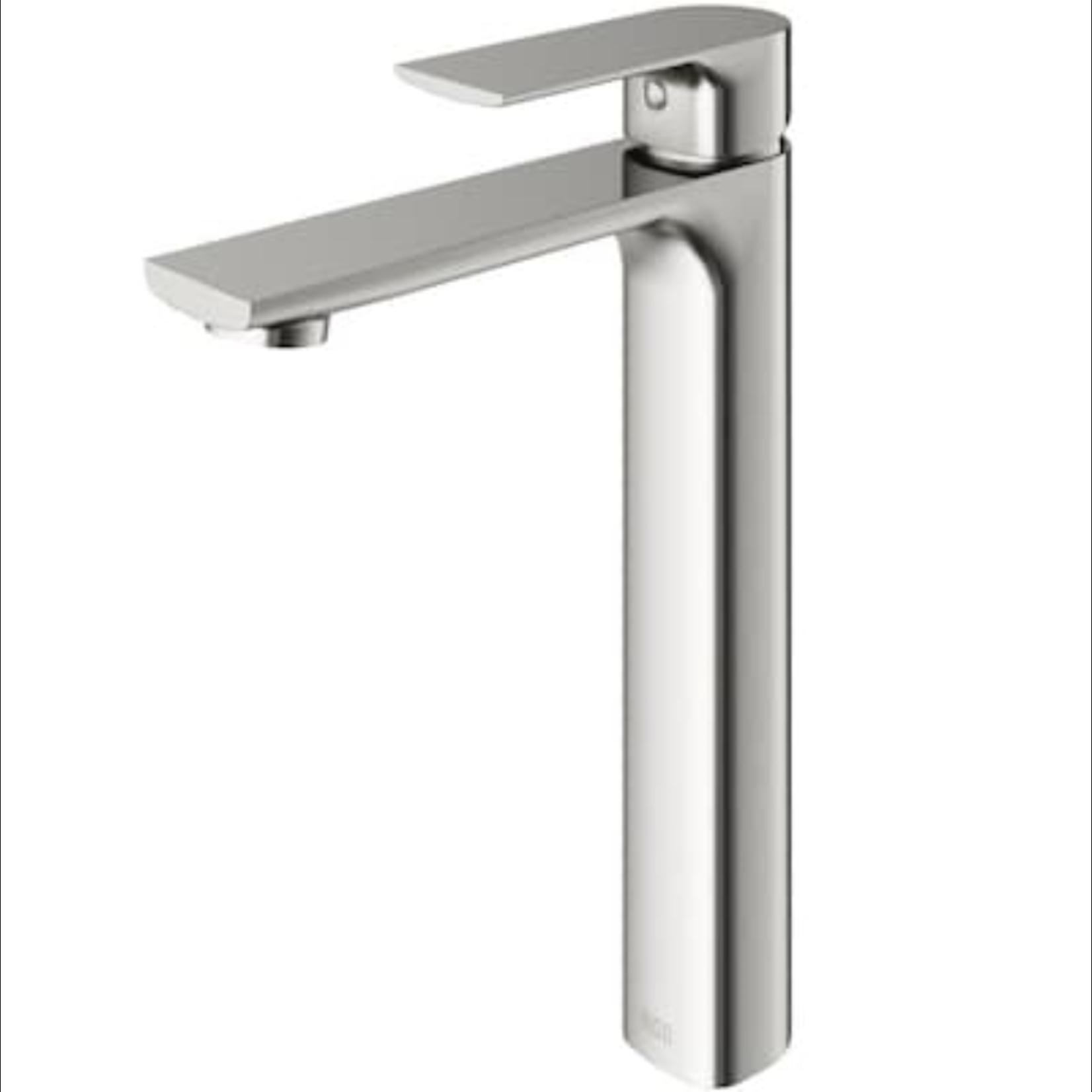 10167 VIGO Norfolk Brushed Nickel 1-Handle Vessel Bathroom Sink Faucet