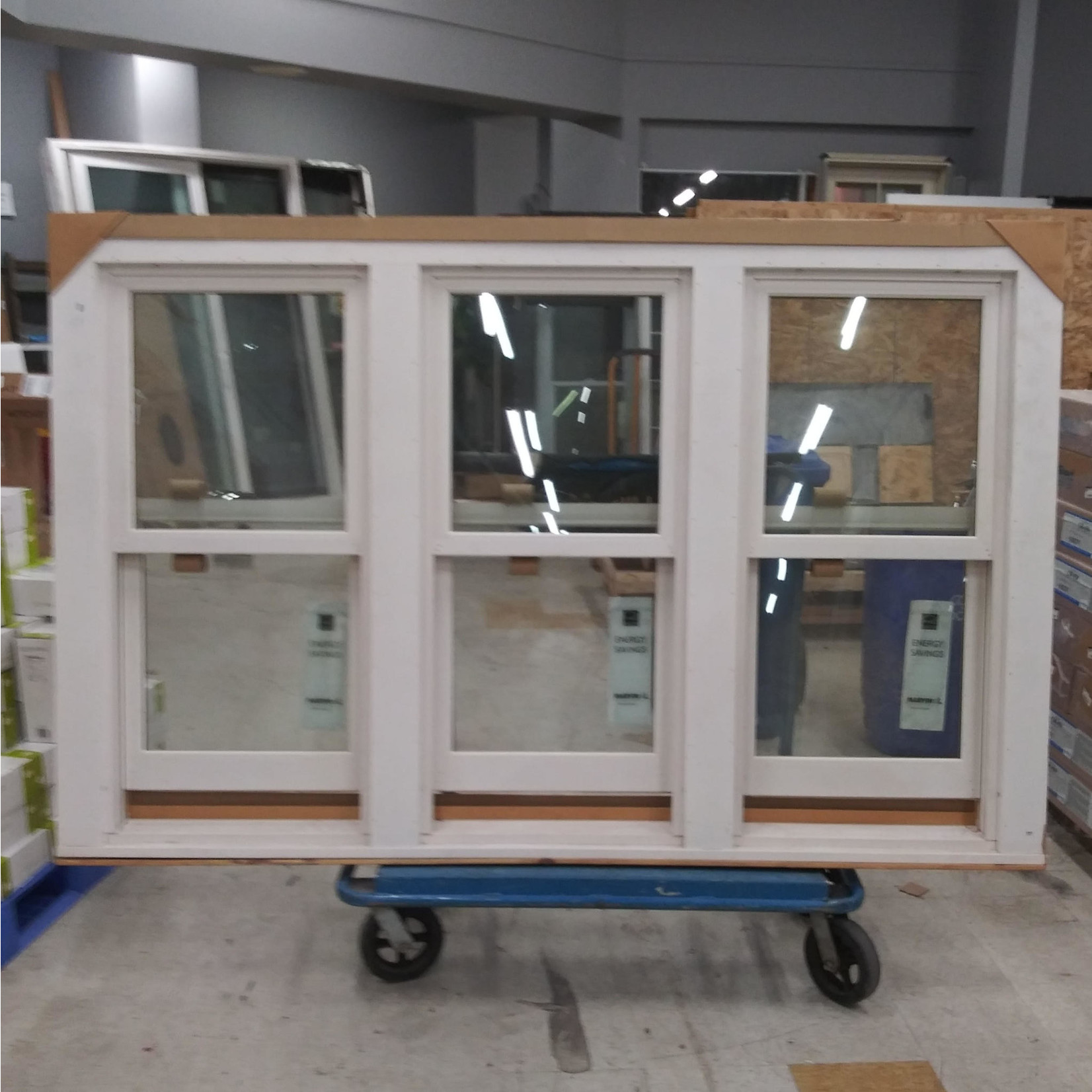 10173 Marvin Wood Frame Double Hung Exterior Window