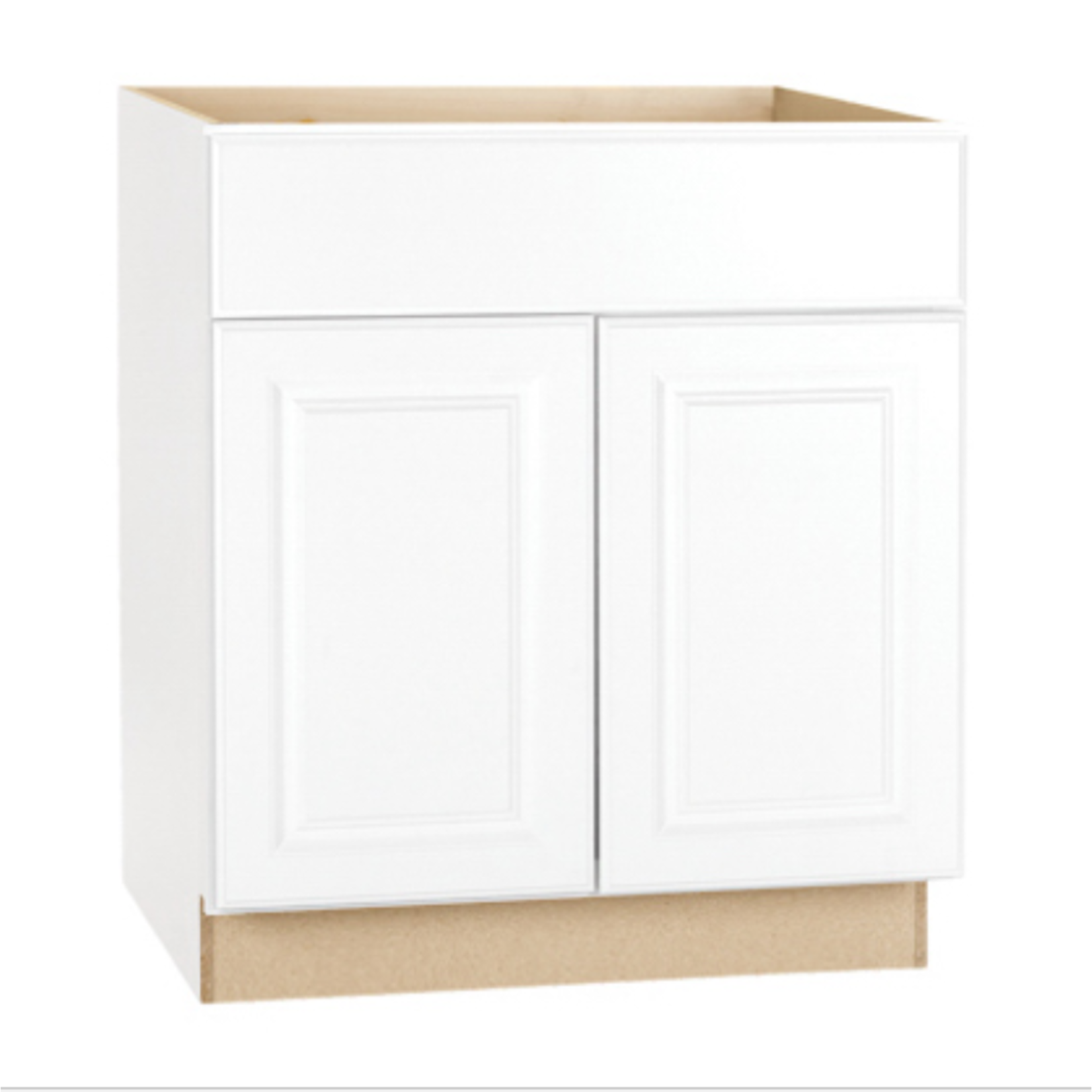 10177 Continental Cabinets White Kitchen Base Cabinet