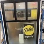 10184 Pella 4 Panel Privacy Window