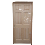 10121 Unfinished Pre-Hung 6-Panel Solid Pine Interior Door