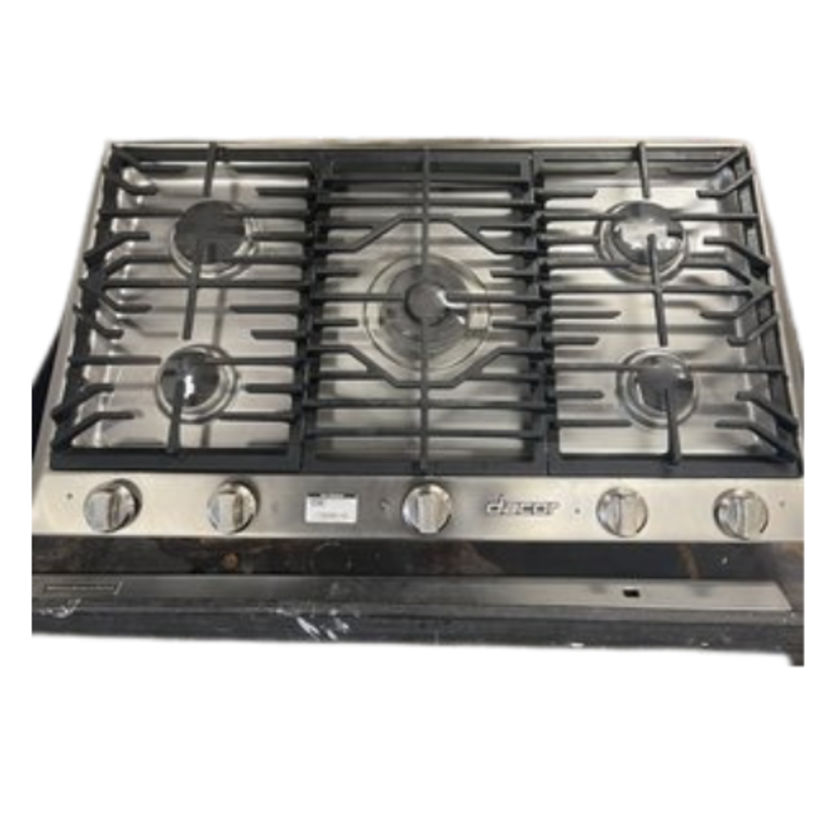 10143 Lightly Used Dacor 5-Burner Drop In Cooktop