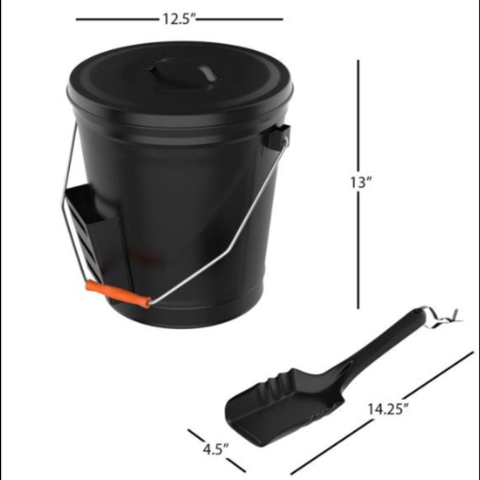 10224 Pure Garden Ash Bucket W/ Lid