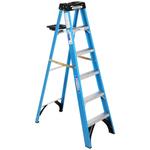 10250 Werner 6-ft Fiberglass Step Ladder