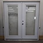 10259 Jeld-Wen White Primed Pre-Hung French Patio Door