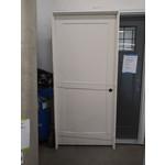 10266 White Primed Pre-Hung 2-Panel Interior Door
