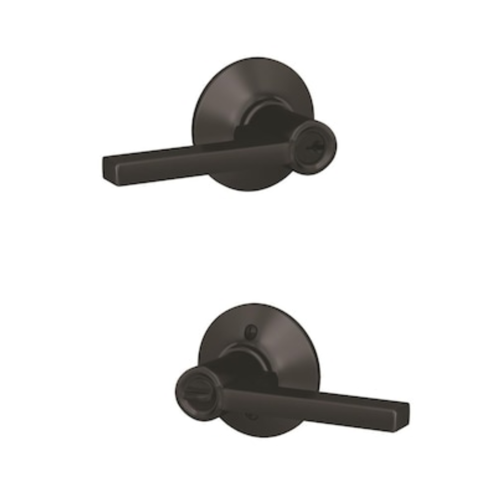 10269 Schlage Latitude Universal Keyed Entry Door Handle