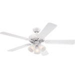 10270 Westinghouse White Finish 5-Blade Ceiling Fan