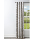10318 Allen+Roth 95-in Mushroom Polyester Blackout Curtain Panel
