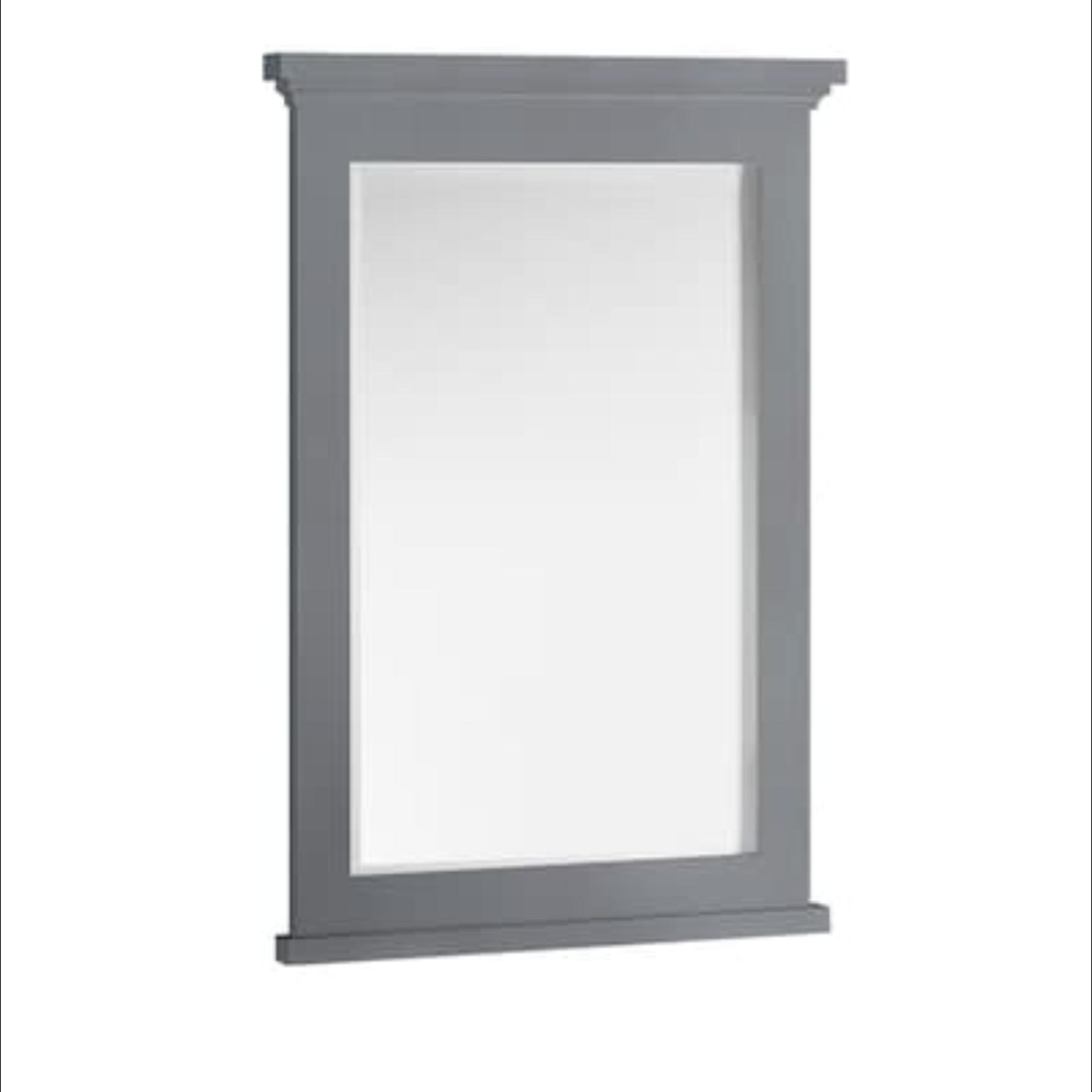 10320 Fresca Windsor Gray Textured Bathroom Mirror