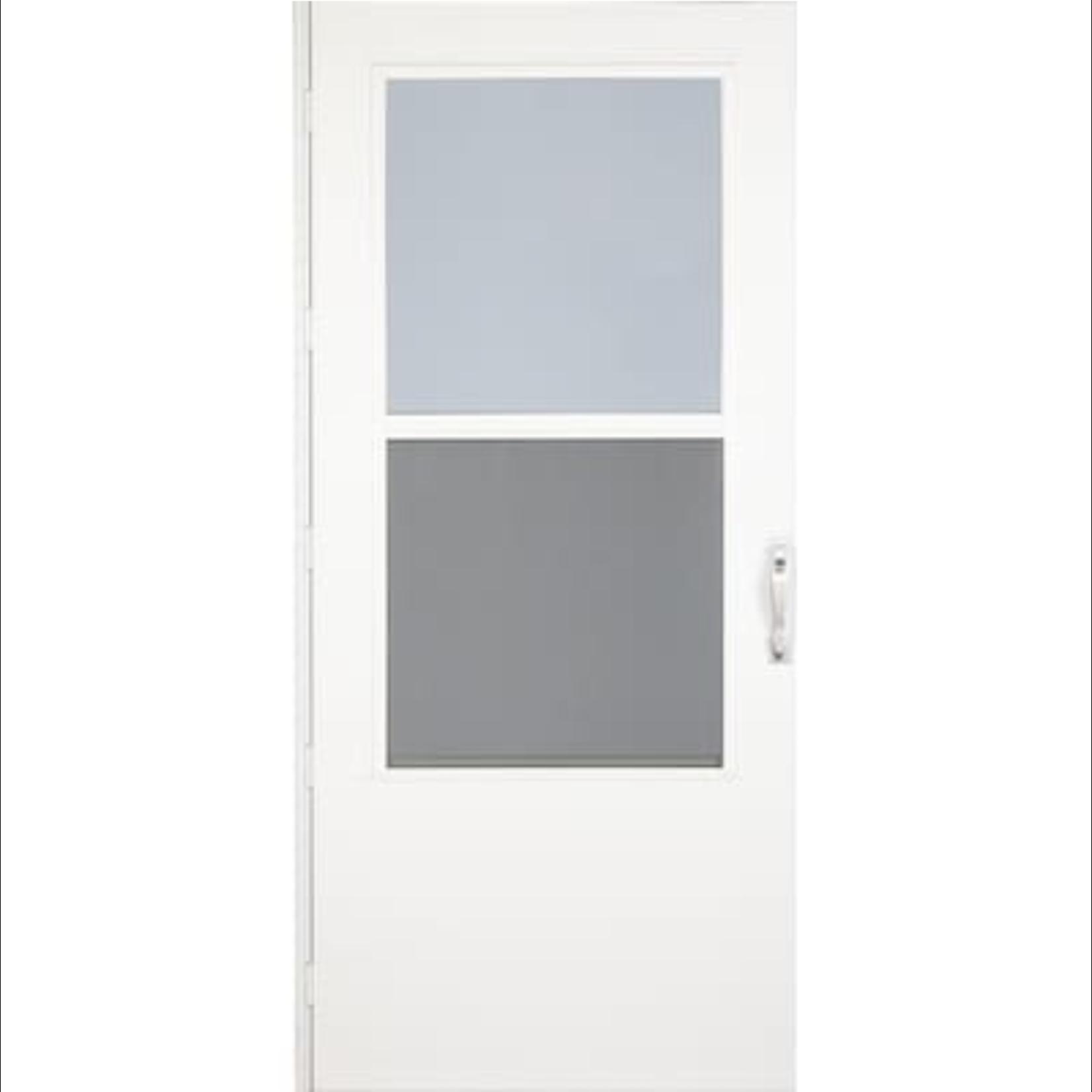 10350 Larson White Mid-View Storm Door