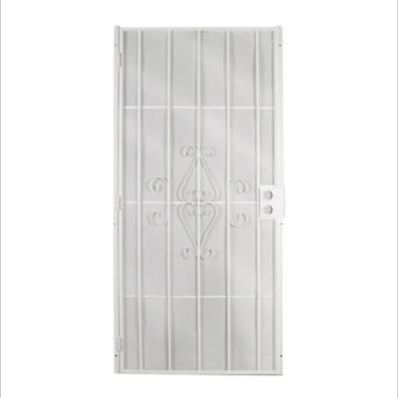 10351 Gatehouse Magnum White Steel Surface Mount Security Door