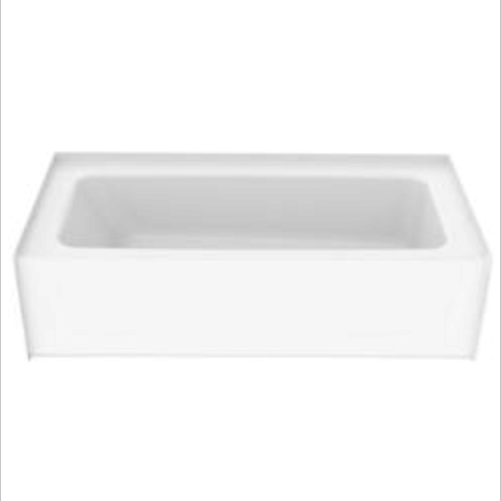 10407 Aquatic White Bathtub and Shower Surround