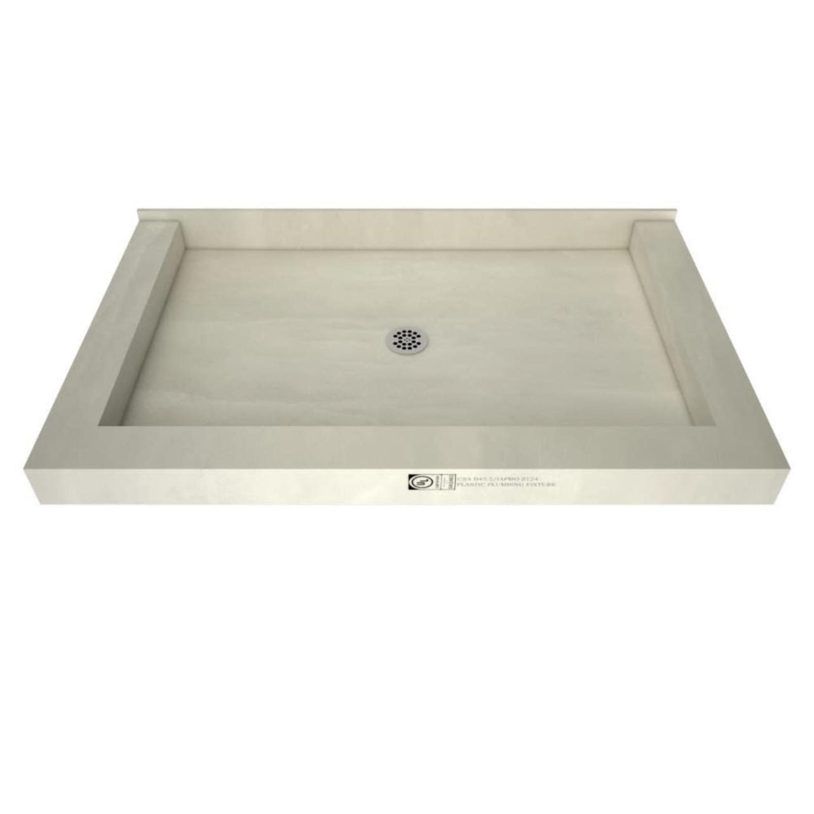 10409 Tile Ready Center Drain Shower Pan
