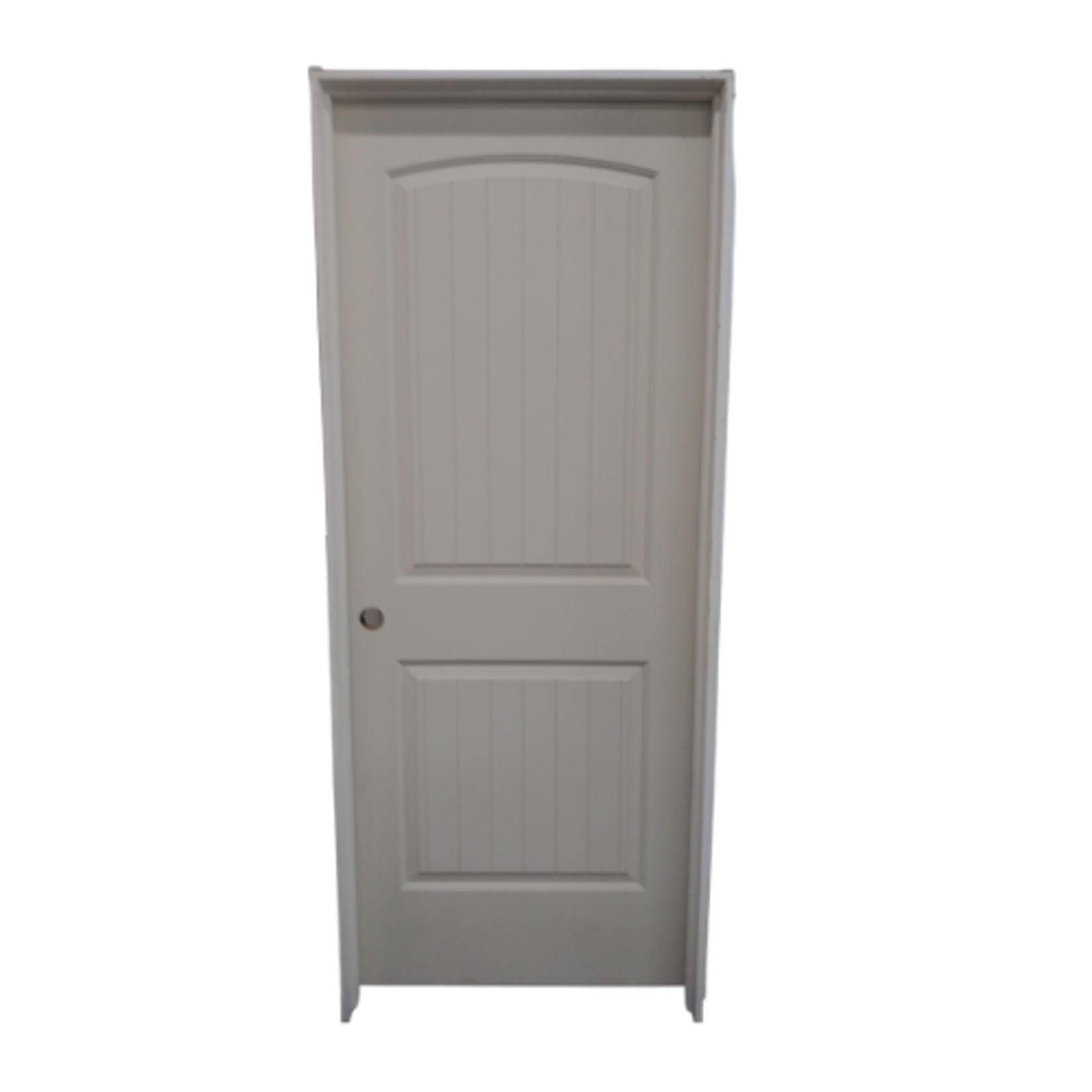 10434 White Primed Pre-Hung 2-Panel Interior Door