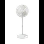 10436 Lasko 3 Speed White Stand Fan