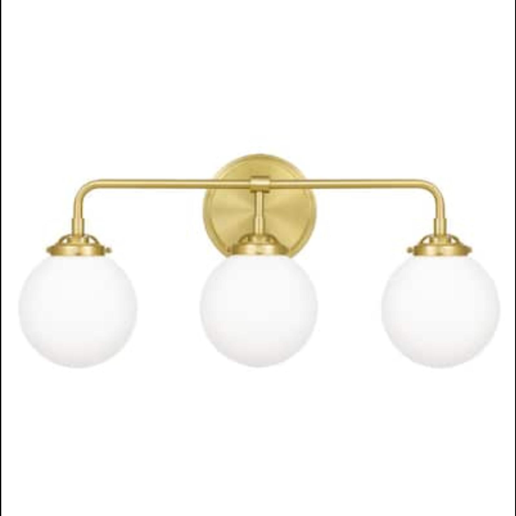 10440 Quoizel Landry 3-Light Vanity Light