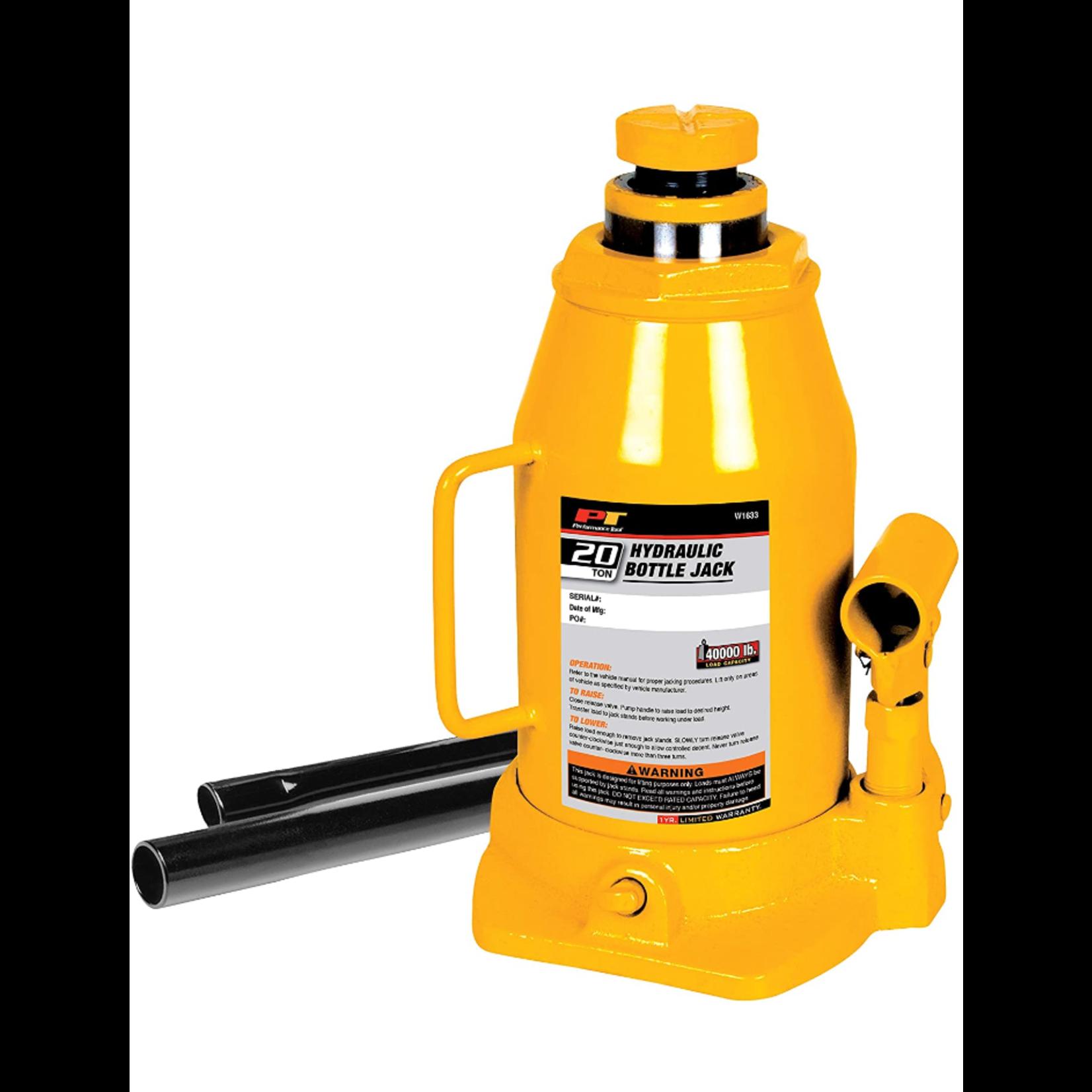 10449 PT 20 ton Hydraulic Bottle Jack