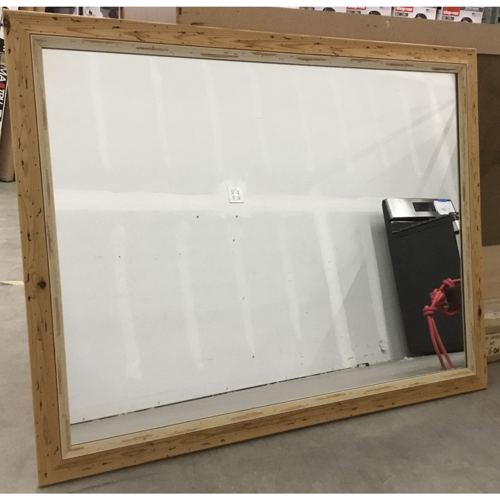 10471 Stained Pine Mirror
