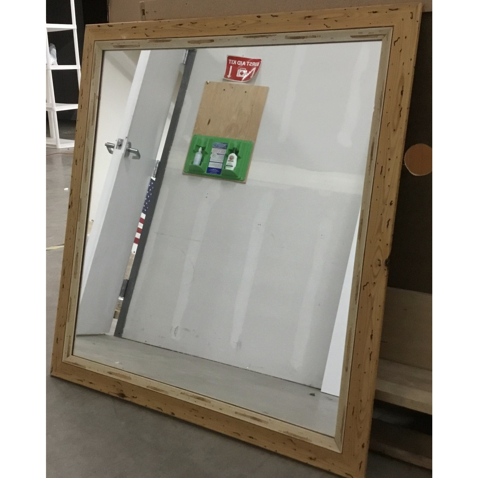 10472 Stained Pine Mirror